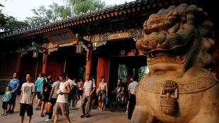 中國北京大學資料圖片