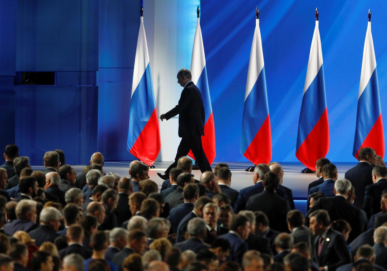 Послание Владимира Путина Федеральному собранию, 15 января 2020