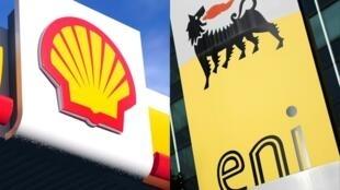 Les deux compagnies pétrolières néerlandaise Shell et italienne Eni devaient se retrouver dans le box des accusés, à Milan, le 5 mars 2018.