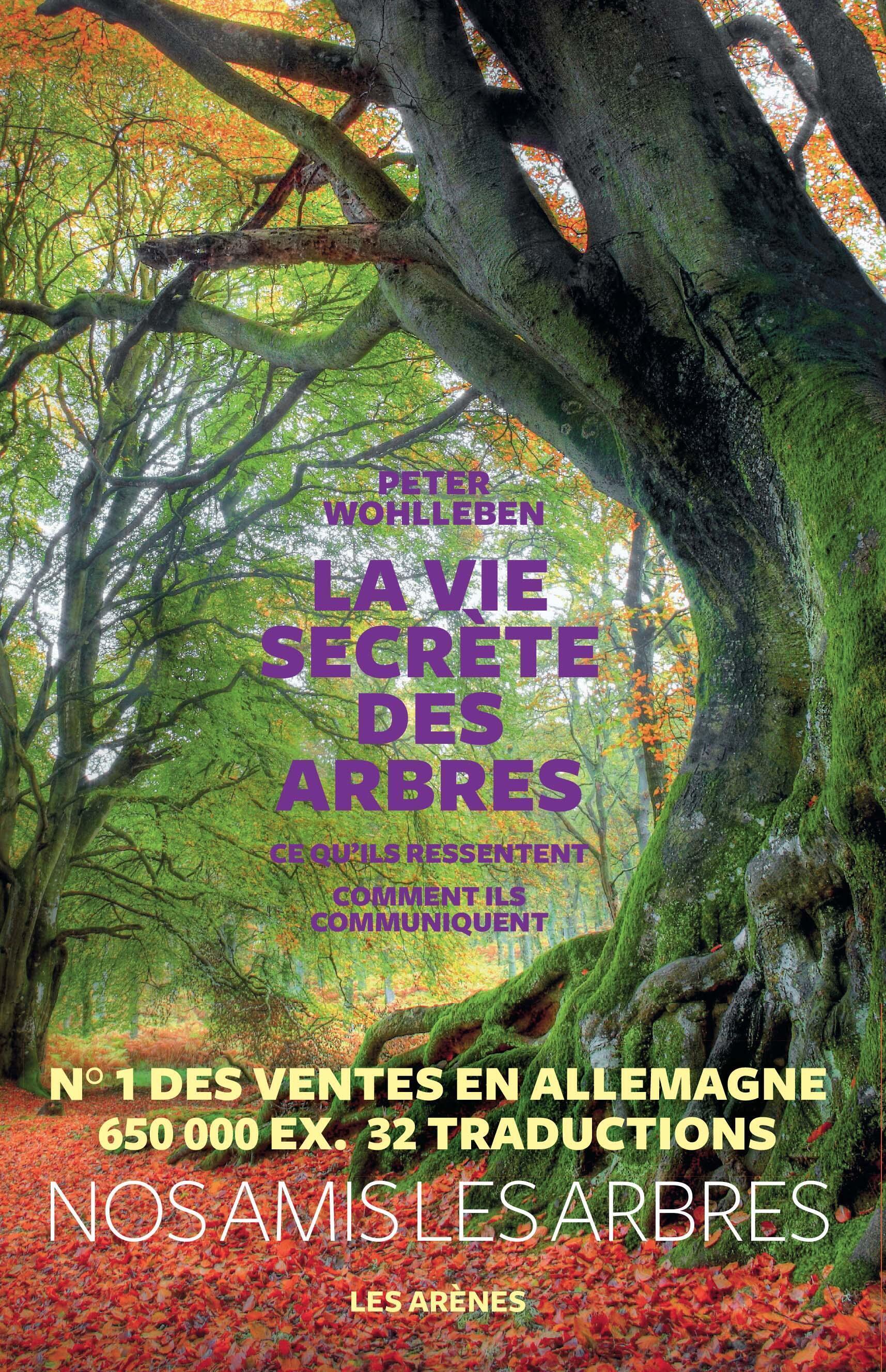 """A versão francesa do best seller """"A vida secreta das árvores"""""""