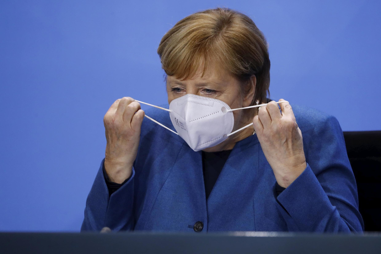 La chancelière allemande Angela Merkel à Berlin, le 28 octobre 2020.