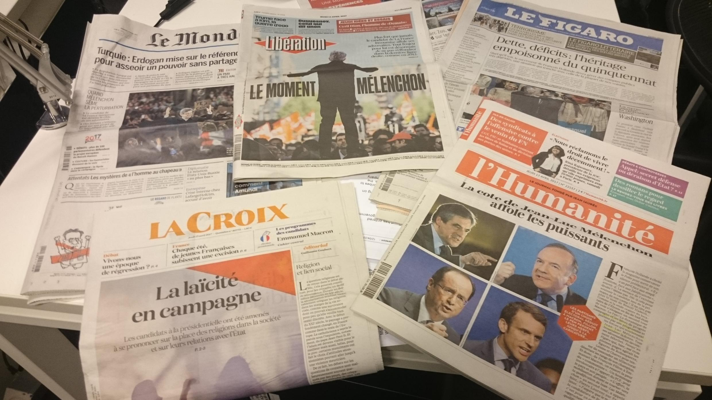 Diários franceses 13.04.2017