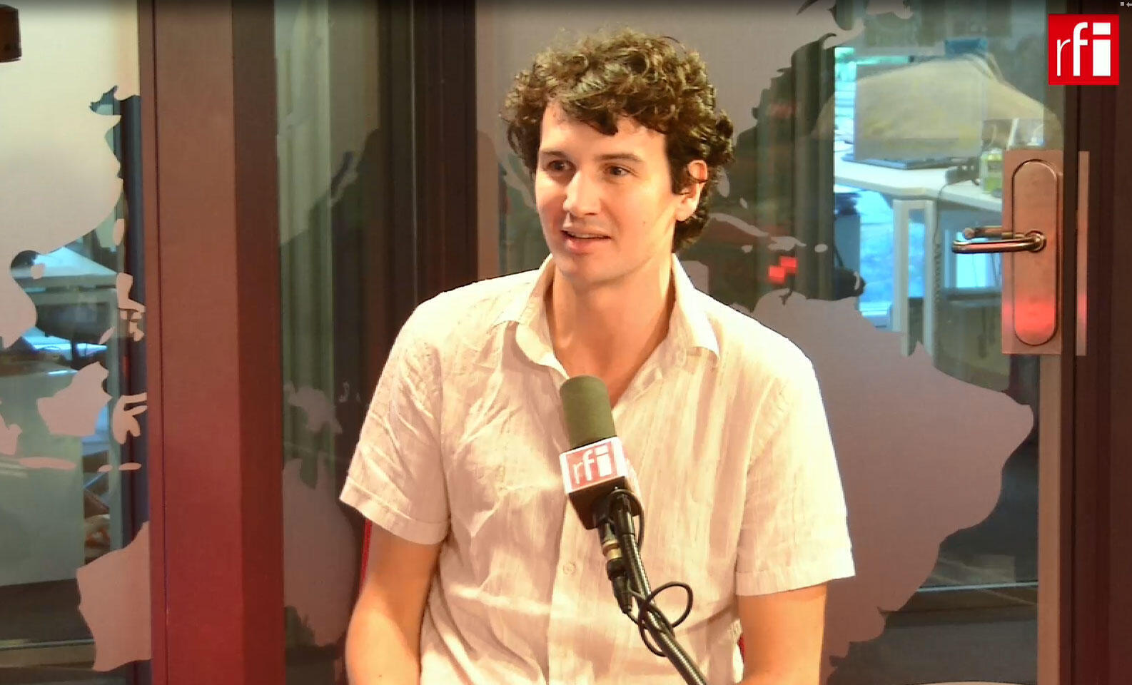 O cineasta Quentin Delaroche.