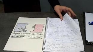 Los cuadernos de quejas fueron puestos a disposición de los franceses en las alcaldías.