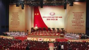 Buổi khai mạc Đại hội Đảng lần thứ 11 ngày 12/1/2011
