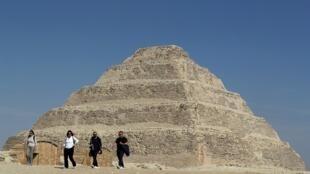 Pirâmide construída por volta de 2.700 a.C, vinha sendo restaurada desde 2006. (Imagem ilustrativa)