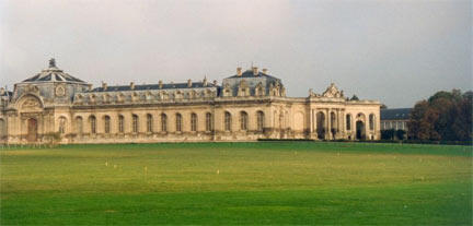 Les écuries du château de Chantilly (Oise)