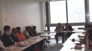 Seminário sobre a língua portuguesa, organizado pela UNESCO e pela Sorbonne Nouvelle