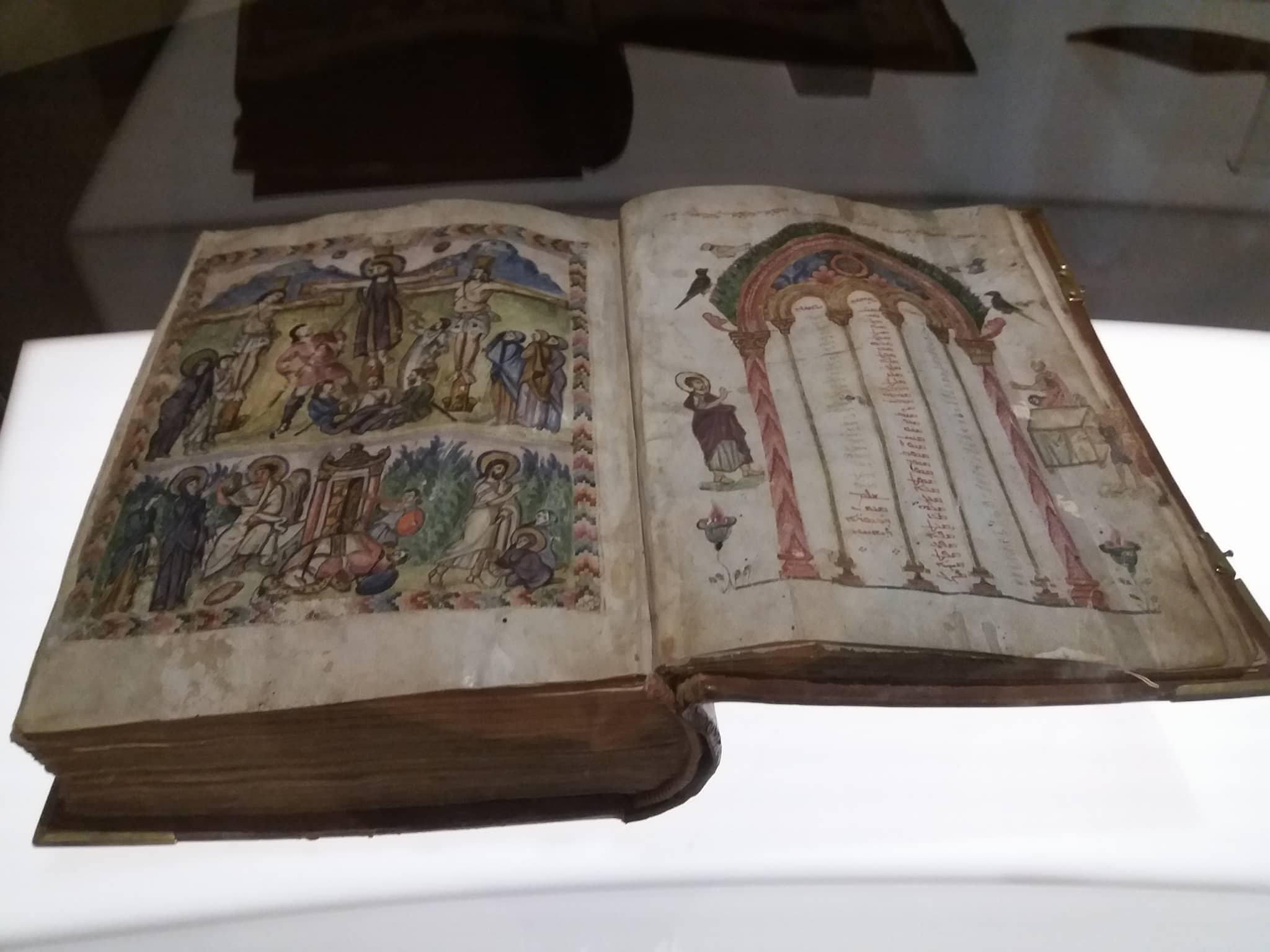 Евангелие Рабулы, сирийский манускрипт VIвека, выставлено в Европе впервые
