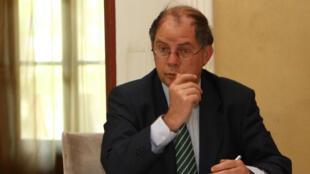 O porta-voz do Ministério francês de Relações Exteriores, Bernard Valero.
