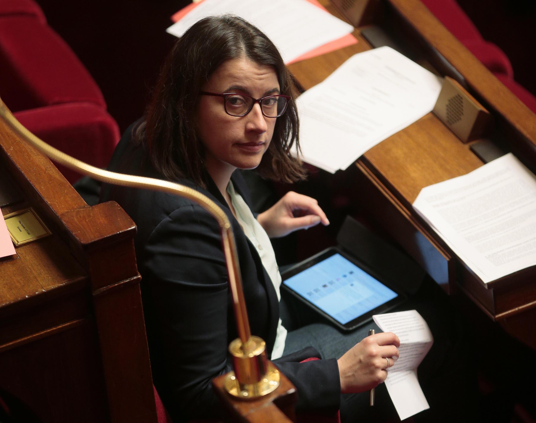 Сесиль Дюфло в Нацсобрании Франции, 8 февраля 2016