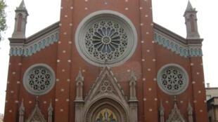 Eglise Saint-Antoine de Padoue d'Istanbul.