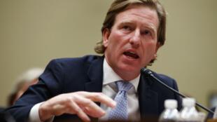 Christopher Krebs, directeur du Cisa, agence dépendante du ministère de l'Intérieur américain, le 22 mai 2019 au Congrès.