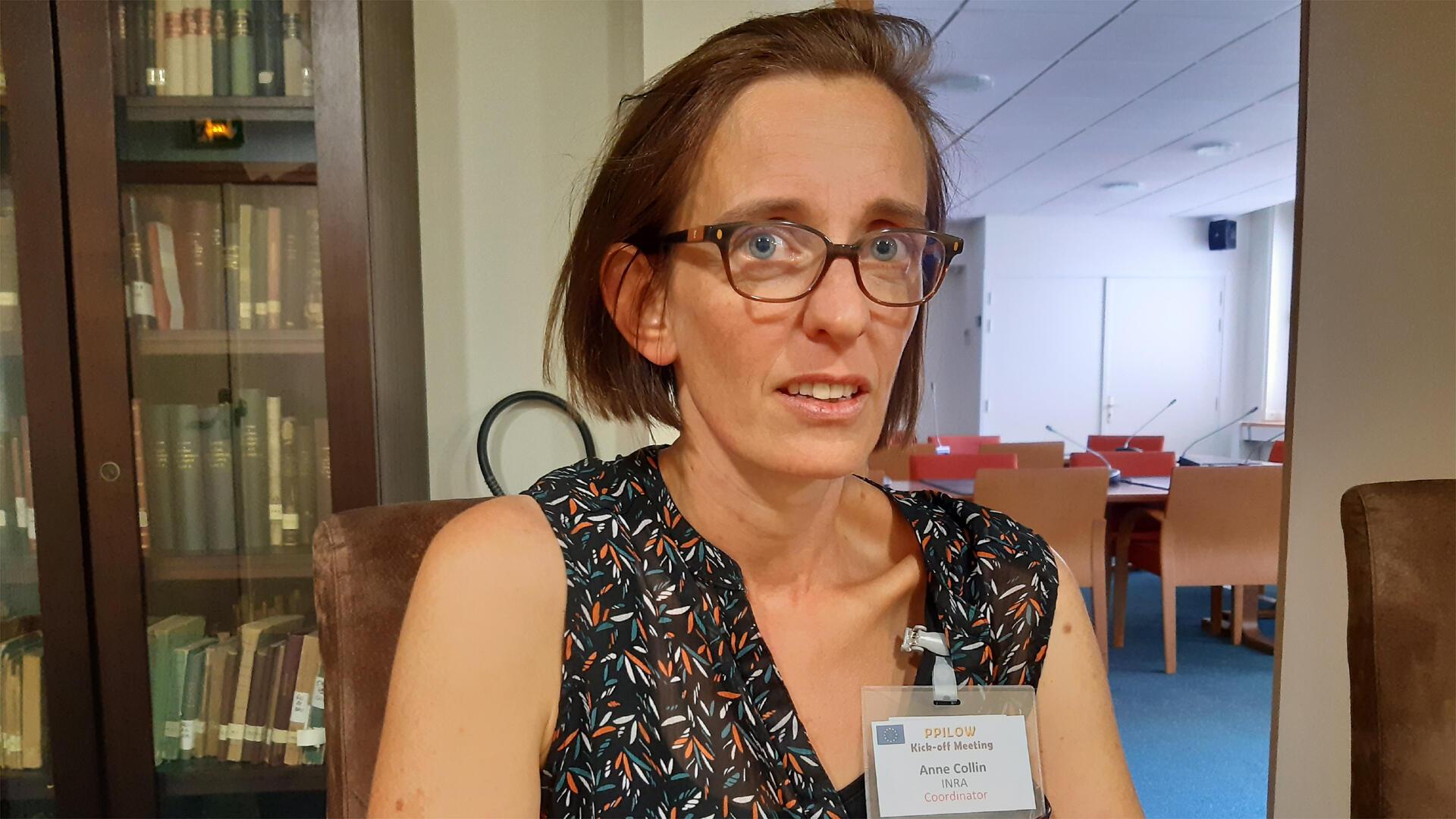 Anne Collin, chercheur à l'institut national de la recherche agronomique (INRA), coordonnatrice du projet H2020.