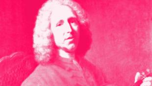Détail de l'affiche dédiée à l'année Jean-Philippe Rameau (1683-1764).
