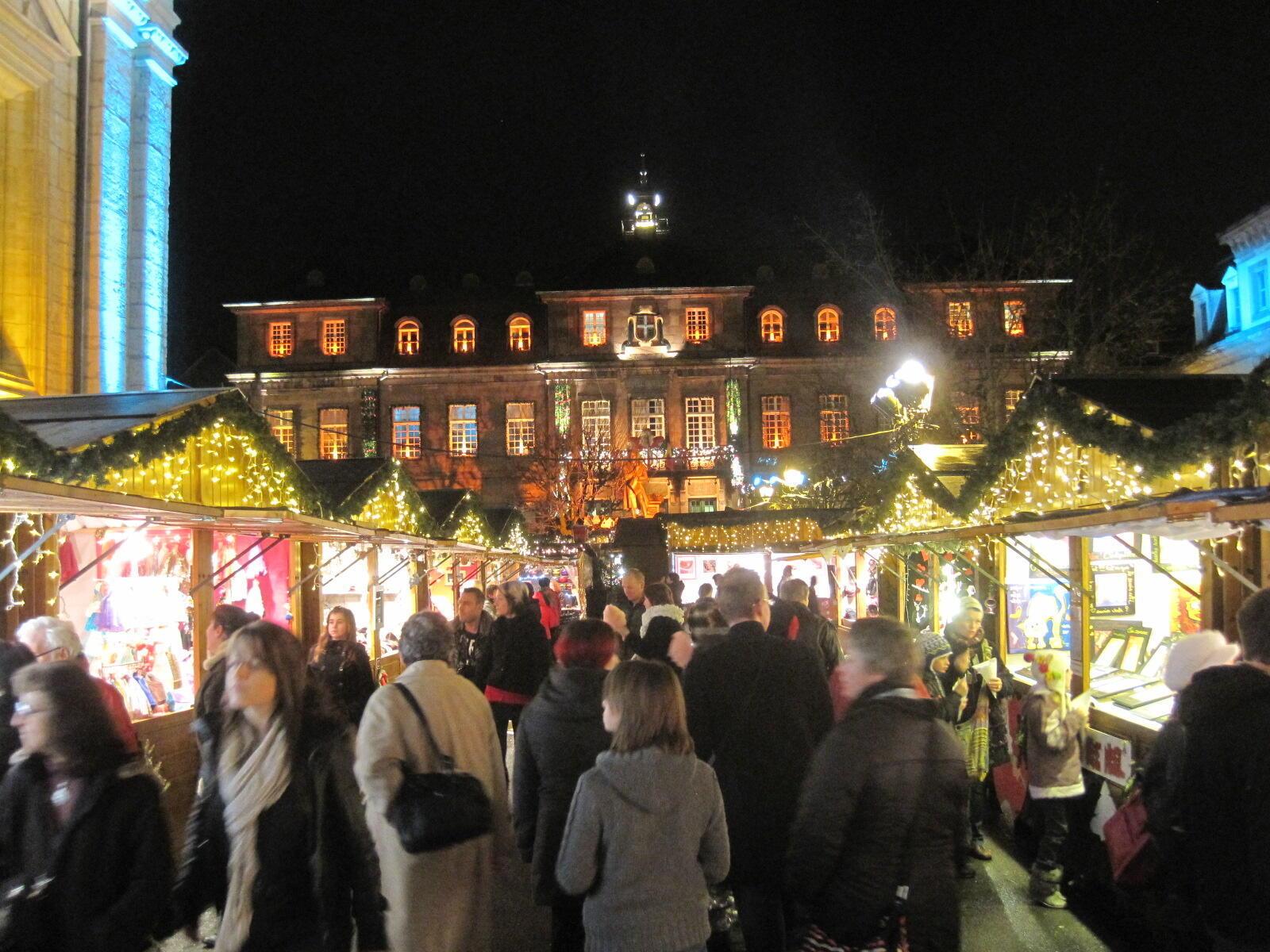 Marché de Noël de Montbéliard.
