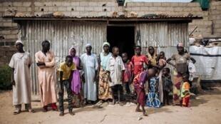 Les conséquences des actions du groupe Boko Haram sont toujours vivantes au Cameroun. Ici, des déplacés fuyant la secte ont trouvé refuge à Maroua, capitale de l'extrême nord du Cameroun, le 30 septembre 2018.