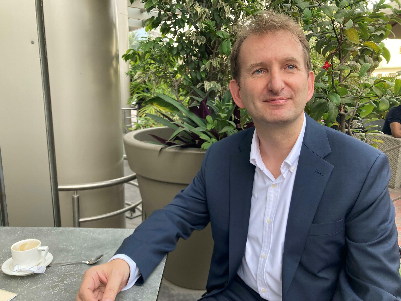 Gabriel Leost, représentant du fond monétaire international en RDC