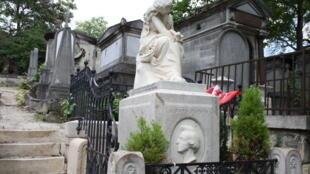 Mộ của Chopin trong nghĩa địa Père Lachaise (Thanh Phương / RFI)