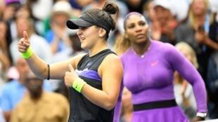 Serena Williams a été battue par Bianca Andreescu en finale de l'US Open, ce qui la prive d'un 24e titre en Grand Chelem.