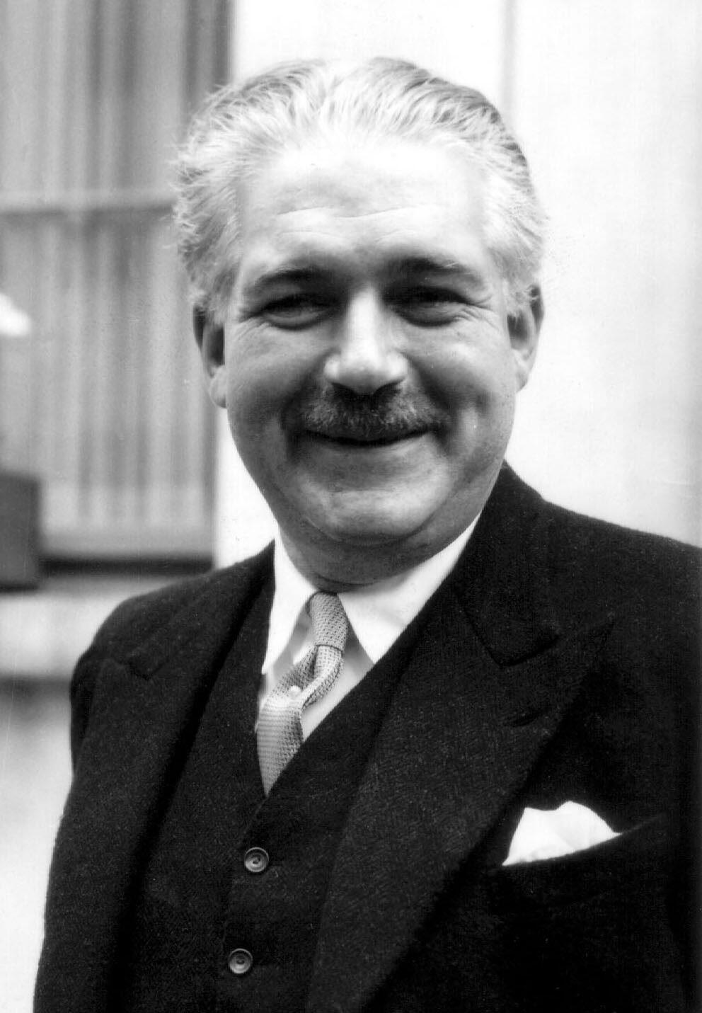Photo non datée du comte Harold d'Aspremont Lynden.