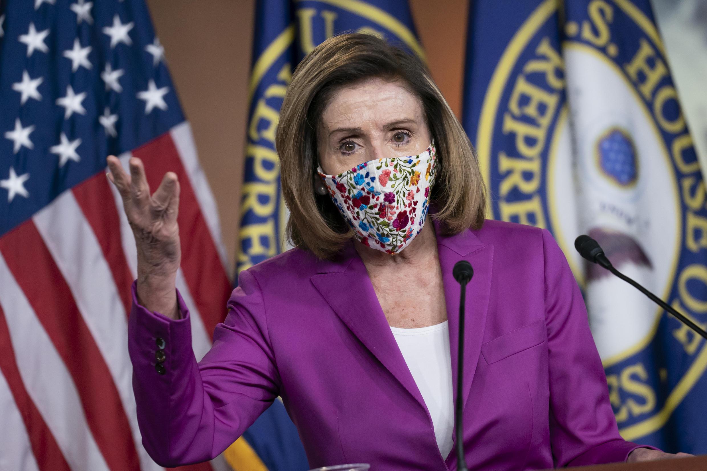 نانسی پلوسی رئیس مجلس نمایندگان آمریکا