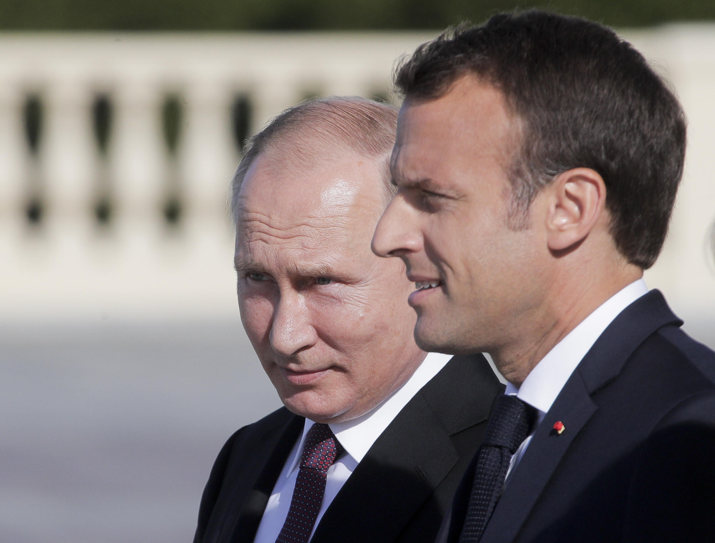 В преддверие саммита G7 Эмманюэль Макрон примет Владимира Путина в своей летней резиденции