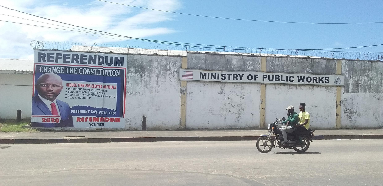 Liberia Weah referendum