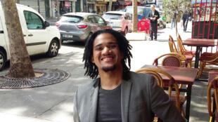 Fabian Charles, président du Club RFI Paris.