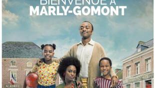 Affiche du film « Bienvenue à Marly Gomont », un film de Julien Rambaldi avec Marc Zinga et  Aïssa Maïga