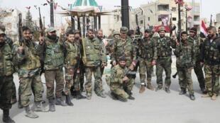 L'armée de Bachar el-Assad a repris la ville de Yabroud, ce dimanche 17 mars 2014.