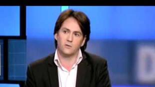 Jean-Eric Branaa, auteur du livre  « Qui veut la peau du parti républicain? » (capture d'écran)