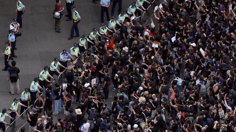 Không một ai ở Hồng Kông biểu tình ủng hộ luật dẫn độ!