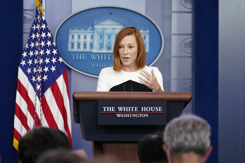 États-Unis - Maison Blanche - Jen Psaki - AP21265675111184