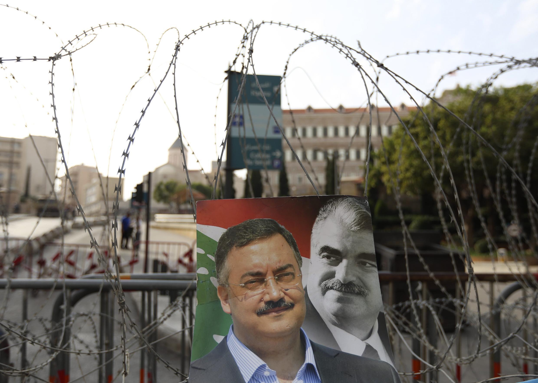 Hai gương mặt chính trị gia quá cố của  đối lập Liban hiện nay: Cựu thủ tướng (Phải) và và lãnh đạo tình báo tướng Wissam al-Hassan bị ám sát hôm 22/ 10/2012.