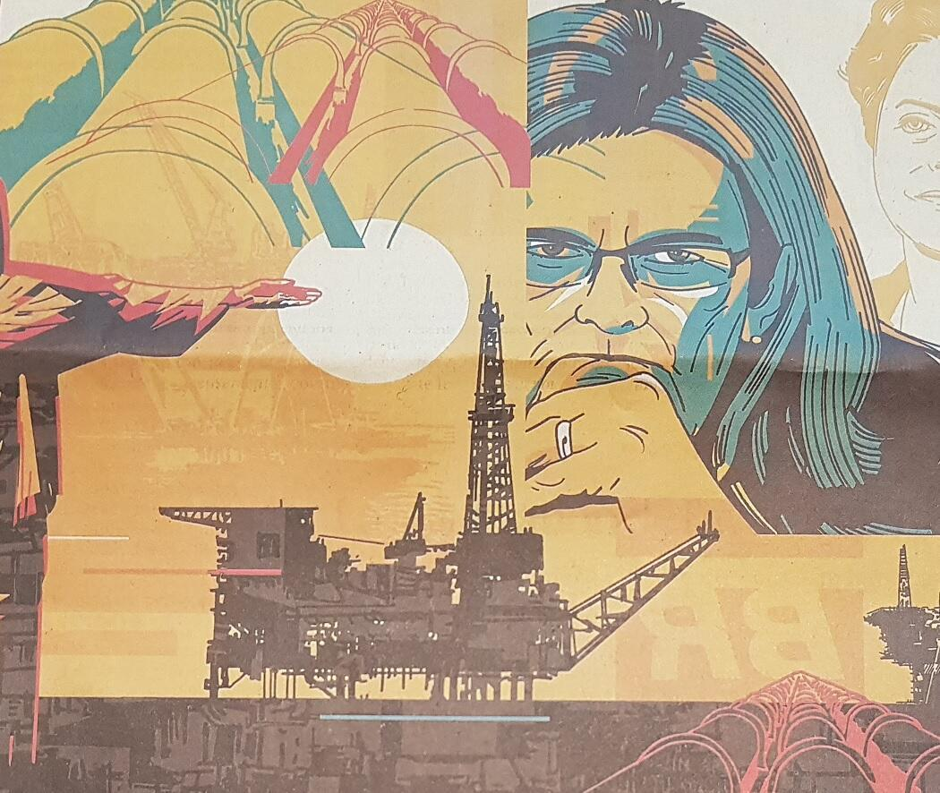 """""""Das favelas à liderança da Petrobras"""" é o título do perfil de Maria das Graças Foster, publicado nesta quinta-feira (9) pelo Les Echos."""