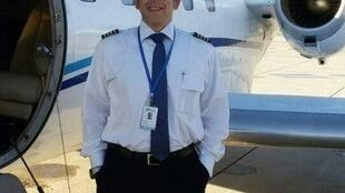 O piloto brasileiro Jairo Lichewitz, radicado em Israel.