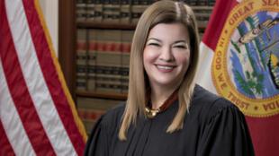 La jueza cubano-estadounidense Bárbara Lagoa, una de los magistrados preseleccionados para reemplazar la vacante en la Corte Suprema de Estados Unidos que dejó la muerte de Ruth Bader Ginsburg