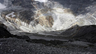 La mine de cuivre et d'or de Grasberg, exploitée par Freeport, est l'une des plus importantes du monde.