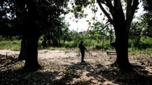 La localité de Bakuakenge est disputée par deux provinces, le Kasaï et le Kasaï Central en RDC (image d'illustration)