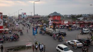 Photo d'illustration. Ici, une rue à Goma en République démocratique du Congo.