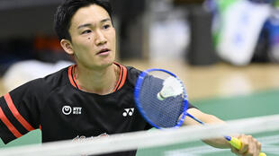 World number one Kento Momota was looking to make his international comeback in Bangkok after almost a year out following a car crash that left him with serious injuries
