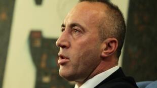 涉嫌战争罪被国际法庭传唤到科索沃总理拉姆什.哈拉迪纳伊