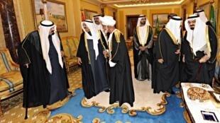 سران کشورهای عرب در ریاض