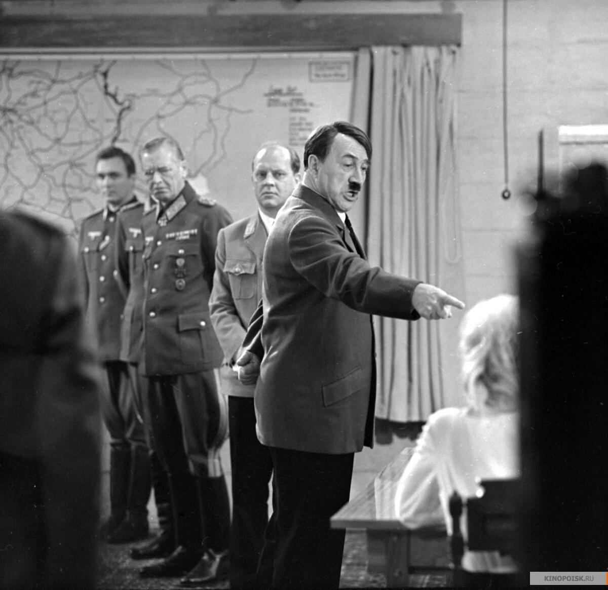 Фриц Диц в роли Адольфа Гитлера