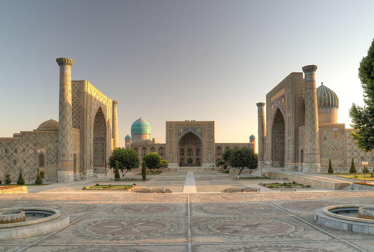 Image d'archive: Habitée depuis plus de 2500 ans, la ville de Samarcande, dans le sud de l'Ouzbékistan, est classée au patrimoine mondial de l'humanité depuis 2001 (photo d'illustration).