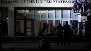 Bandeira americana chega a Cuba