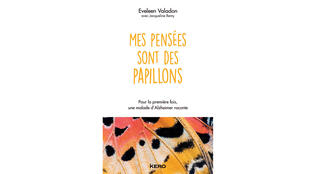 La couverture du livre «Mes pensées sont des papillons», d'Eveleen Valadon.