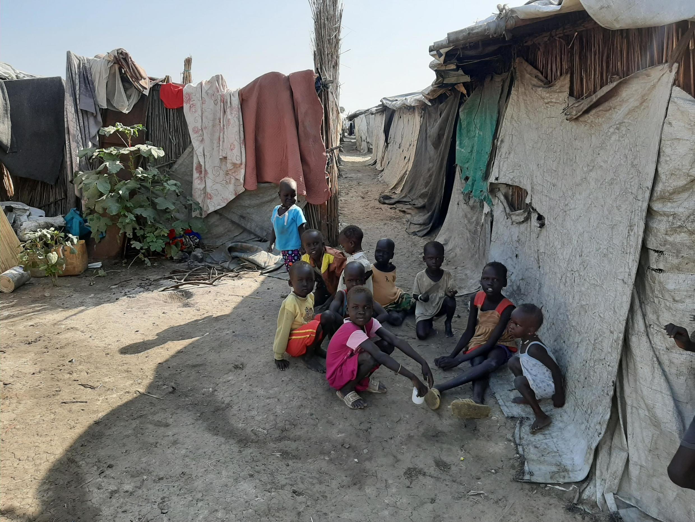 Le camp de déplacés de Bentiu, au Soudan du Sud, le 14 novembre 2019.
