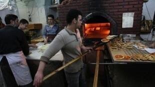La Syrie risque la pénurie de pain.